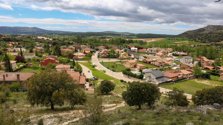 Parcelas urbanizadas de la finca de la Monjía en dos fases. (D.B.)