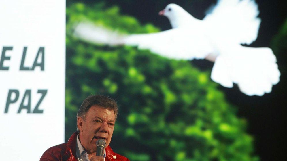Foto: El presidente de Colombia, Juan Manuel Santos, en Soacha. (Reuters)