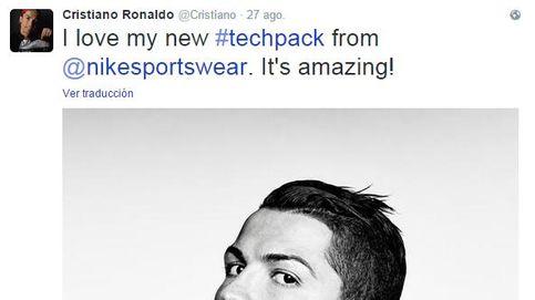 Esto es lo que gana Cristiano Ronaldo por tuit