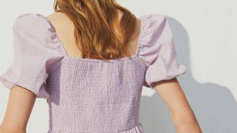 Alerta: este minivestido lila de H&M es una maravilla y cuesta solo 10 euros