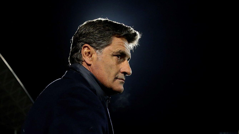 Foto: Míchel, durante su época como entrenador del Málaga. (EFE)