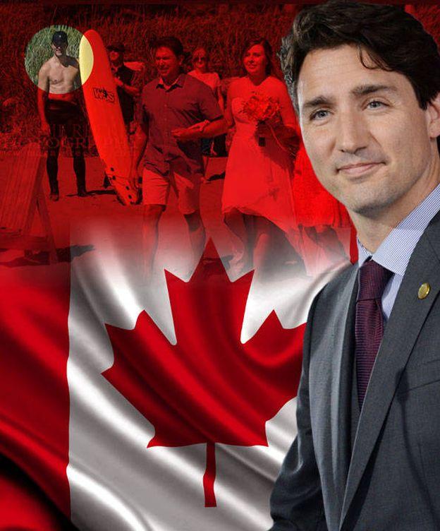 Foto: Justin Trudeau en un fotomontaje realizado por Vanitatis