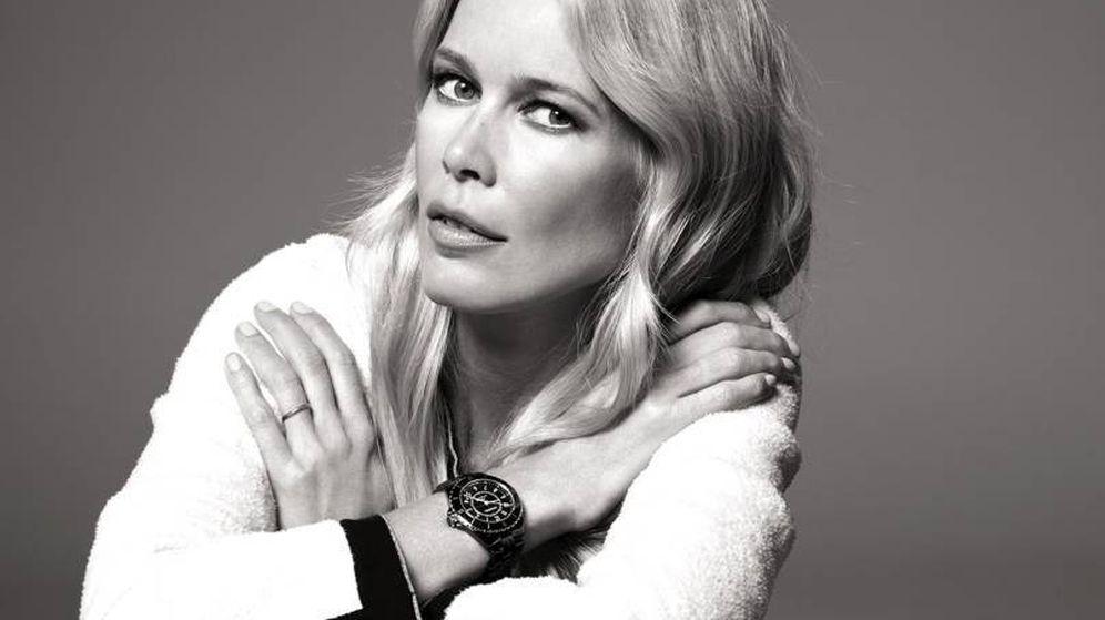 Foto: Claudia Schiffer. (Chanel)