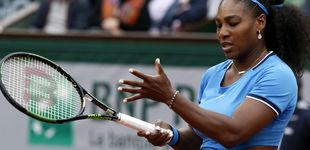 Post de Roland Garros 'castiga' a Serena Williams... por haber sido madre