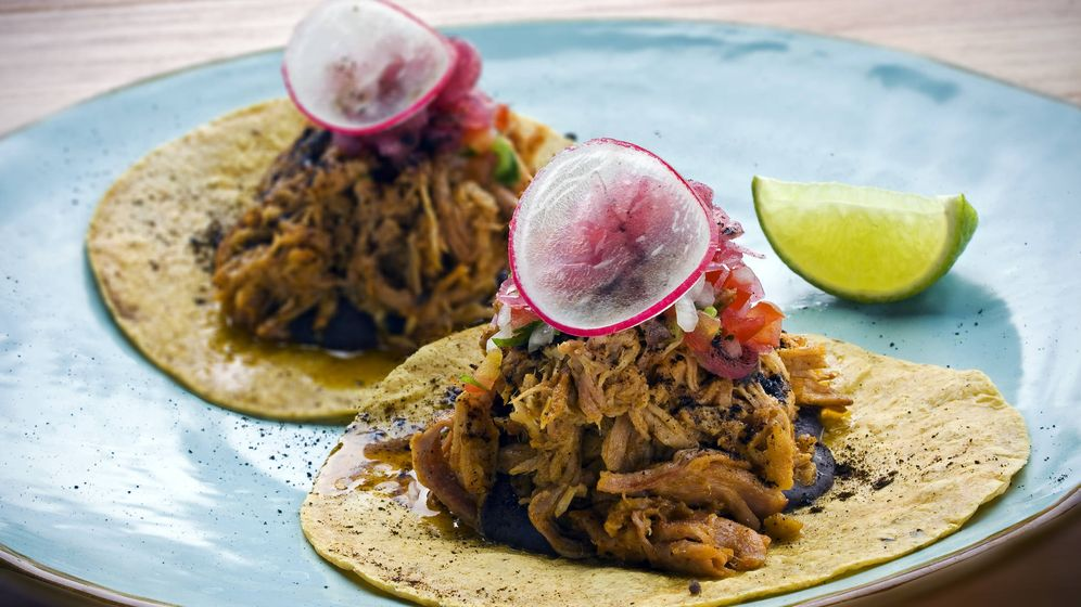 Foto: Tacos de cochinita pibil. (iStock)