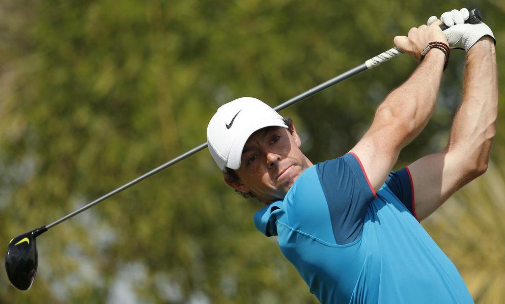 Foto: McIlroy en acción durante un torneo de esta temporada (Reuters)