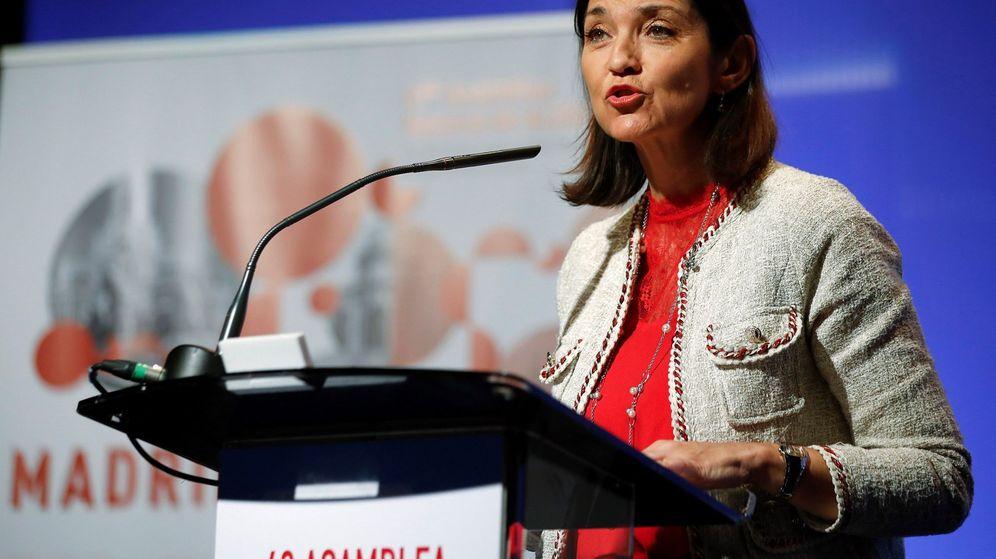 Foto: La ministra de Industria, Comercio y Turismo en funciones, María Reyes Maroto. (EFE)