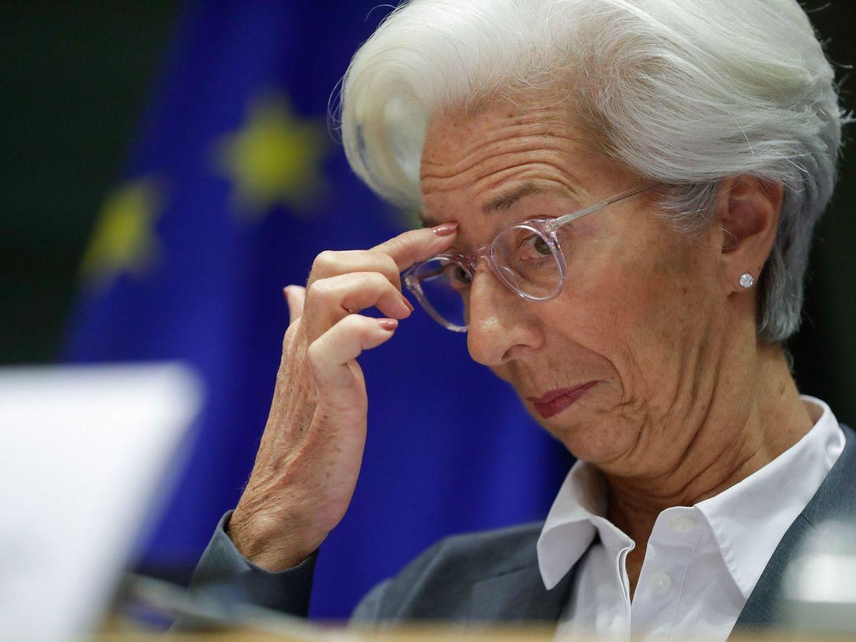 Foto: Christine Lagarde, presidenta del BCE. (EFE)