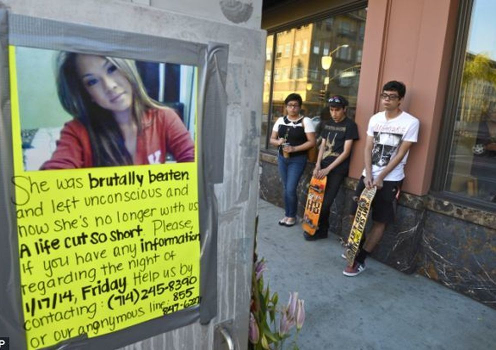 Foto: La joven Kim Pham fue víctima de una brutal agresión por interrumpir a otro joven mientras realizaba una fotografía.