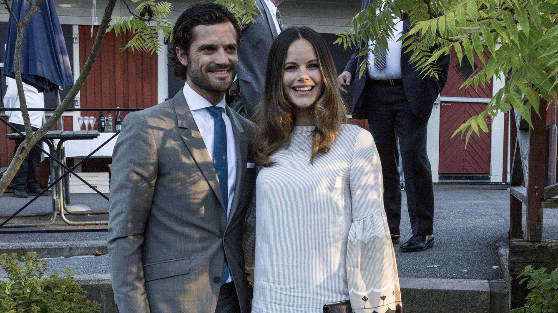Foto: El príncipe Carlos Felipe y la princesa Sofía durante el acto (Cordon Press)