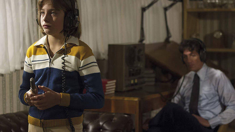 Izan Llunas, interpretando al Luis Miguel niño. (Netflix)