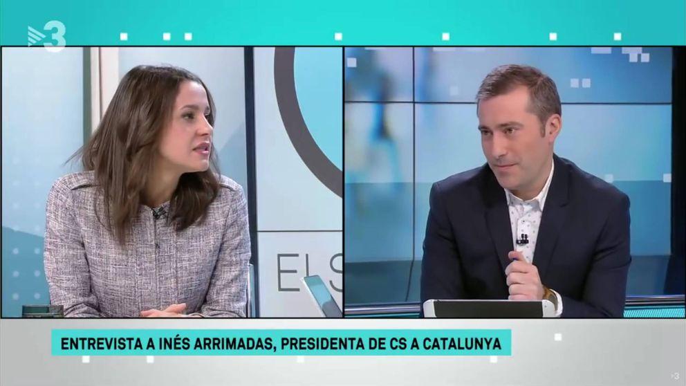 Inés Arrimadas, cuestionada en TV3 a cuenta del himno de Els Segadors