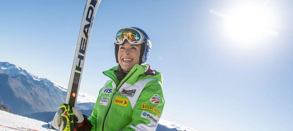 Foto: Hacía demasiado tiempo que Lindsey Vonn no esquiaba (EFE).