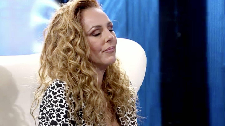 Rocío Carrasco, en la entrevista del miércoles. (Telecinco)