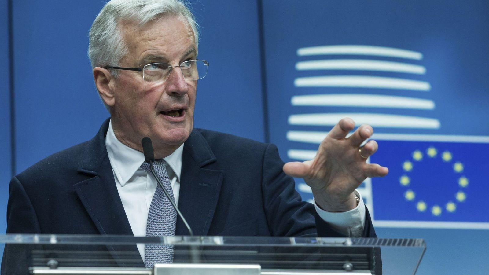 Foto: El negociador europeo para el Brexit, Michel Barnier. (EFE)