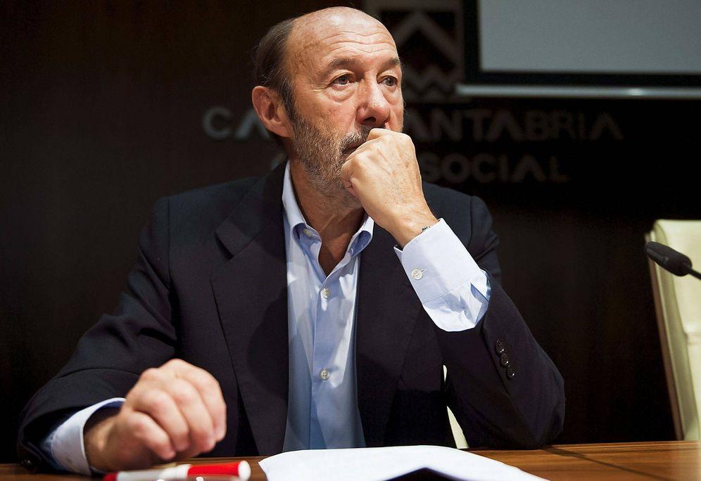 Foto: Alfredo Pérez Rubalcaba, el 27 de septiembre de 2014 en Santander. (EFE)