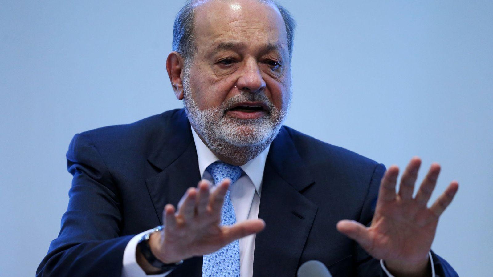 Foto: El mexicano Carlos Slim en una imagen de archivo. (EFE)