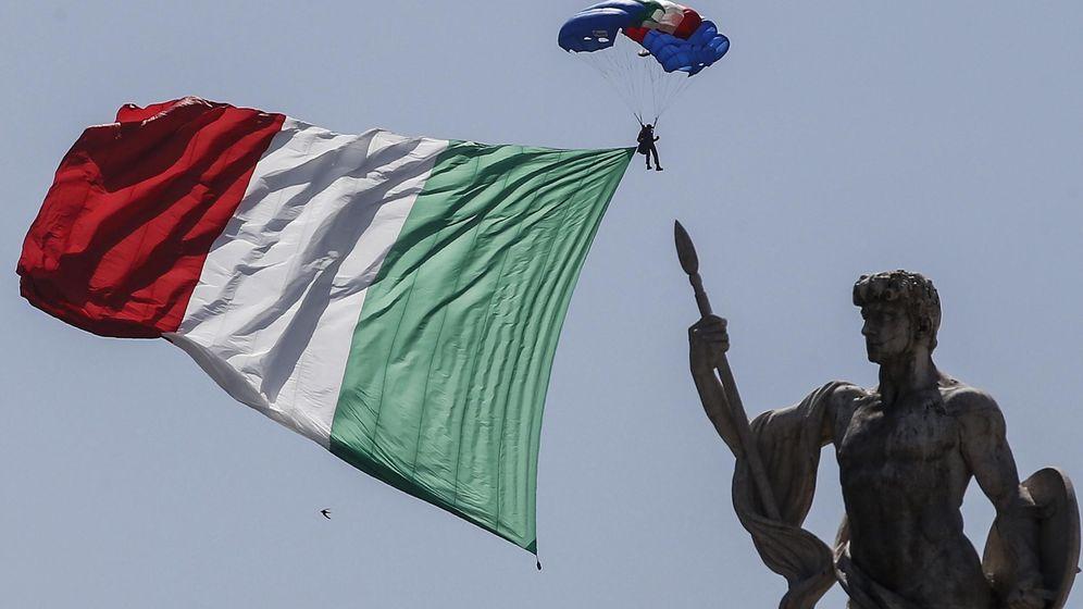 Foto: La bandera de Italia. (Reuters)