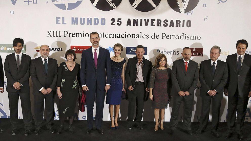 Pedro J. y Sáenz de Santamaría, cara a cara en el Hotel Palace