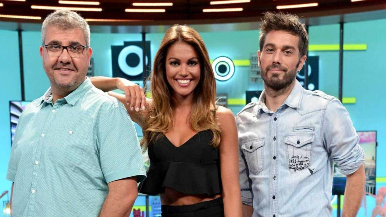 Flo, Lara Álvarez y Dani Martínez. (Mediaset)