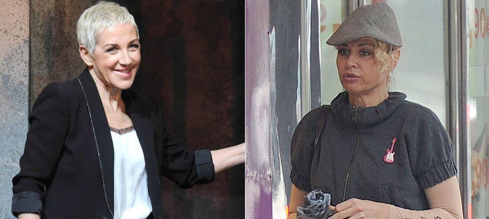 Foto: Ana Torroja y Esther Arroyo en dos imágenes de archivo (Gtres)