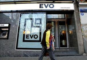 Oficina de Evo Banco. (EFE)