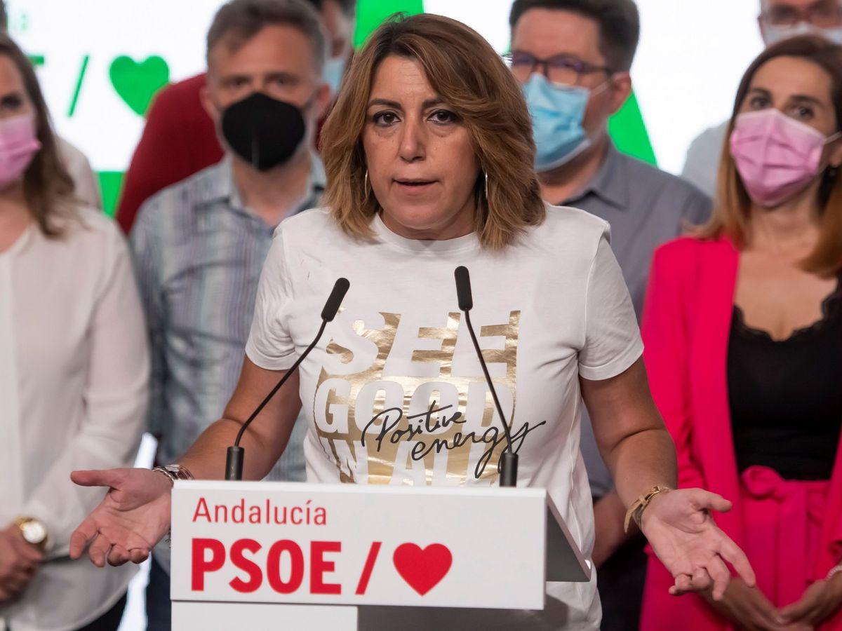 Foto: La exdirigente del PSOE de Andalucía Susana Díaz. (EFE)