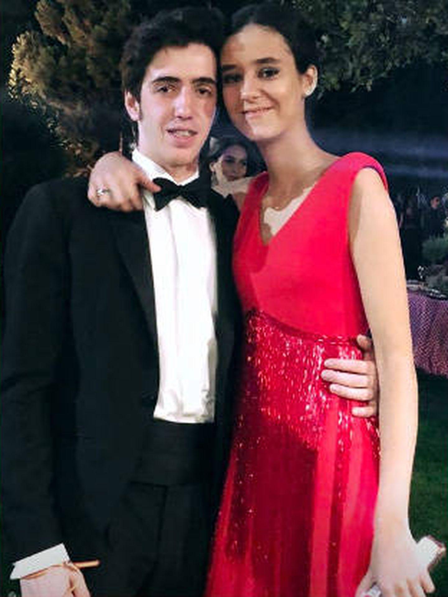 Victoria Federica y Carlos Ochoa en la fiesta. (Redes Sociales: @ochoa_carlitos)