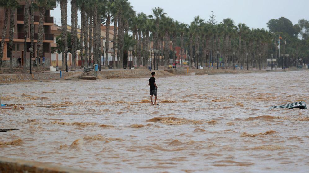 Foto: Los Alcázares, el pasado 13 de septiembre. (Reuters)