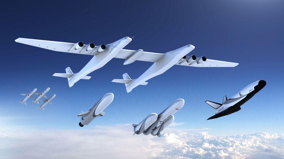 Cohetes y satélites: así conquistará el espacio el avión más grande del mundo