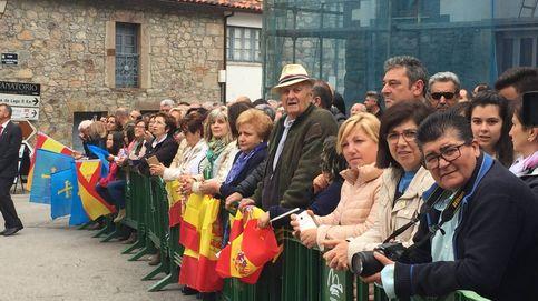 Felipe VI demuestra tranquilidad entre vivas a España a una semana del 1-0