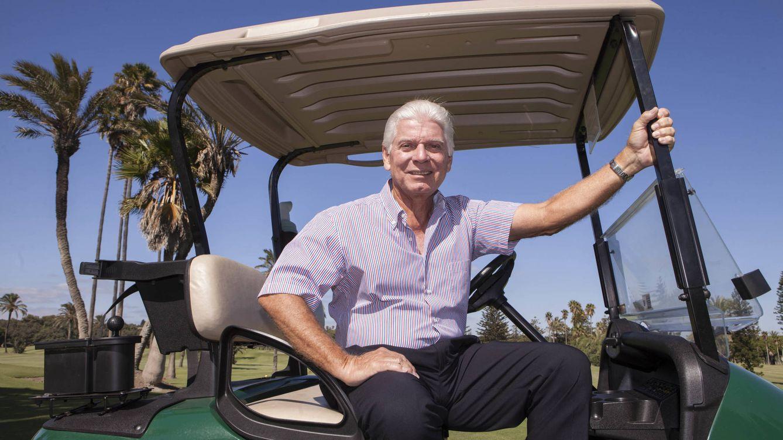 Foto: Miguel Preysler, golfista y primo de Isabel Preysler en Real Club de Golf de Sotogrande (Foto: Jesús Domínguez)