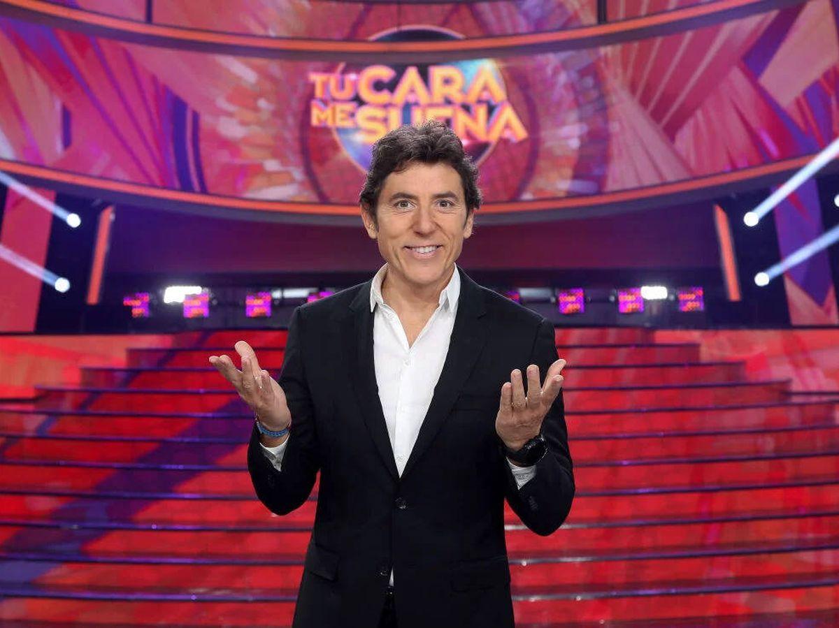 Foto: Manel Fuentes, presentador de 'Tu cara me suena'. (Antena 3)