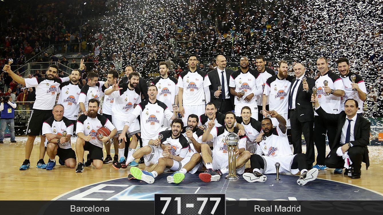 Foto: Rudy lleva al Real Madrid a repetir título de Copa del Rey 29 años después