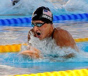 Lochte, campeón del mundo de los 200 libres por delante de Phelps