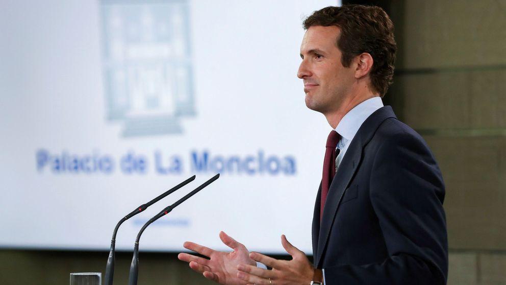 Casado anuncia un recurso al TC contra la decisión de que Puigdemont sea candidato