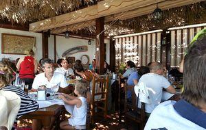Comiendo por el estrecho: El Mirlo en Tarifa y otros lugares de Vejer