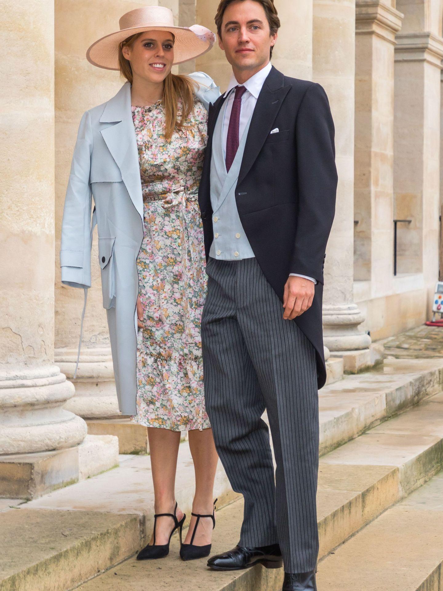 Beatriz de York y su prometido Edoardo Mapelli Mozzi. (EFE)