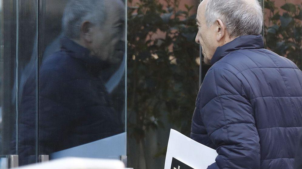 Foto: Llegada de Miguel Ángel Fernández Ordóñez a la Audiencia Nacional. (EFE)