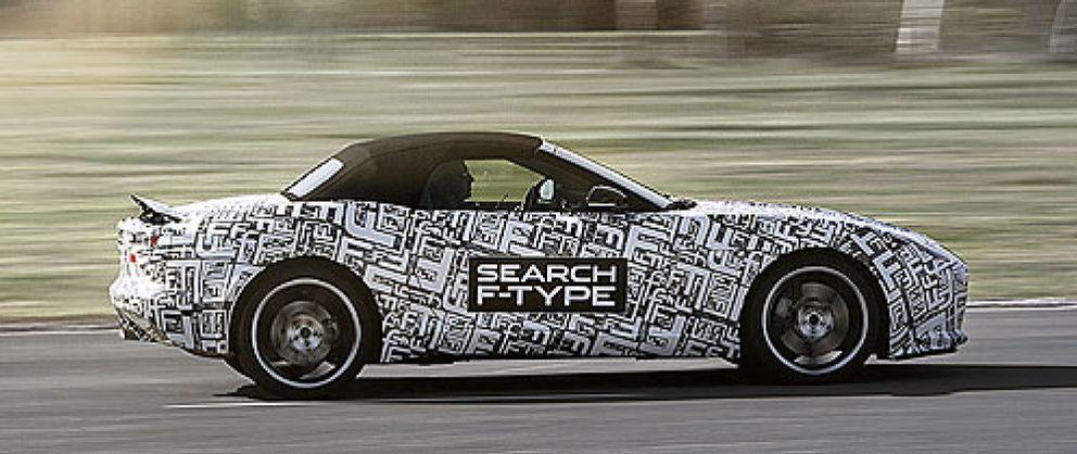 Foto: Jaguar F-Type, un rival del Boxster