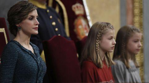 La cara de pocos amigos de la Reina Letizia en la apertura de la legislatura