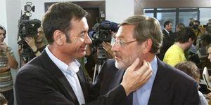 Foto: Tomás Gómez ningunea a Lissavetzky y le impone la lista para Madrid
