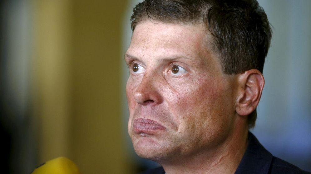 Foto: Jan Ullrich, en una comparecencia reciente ante los medios (Reuters)