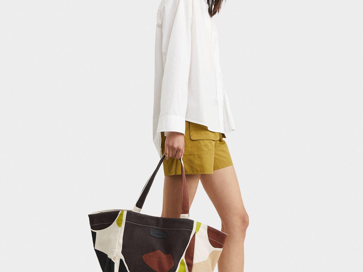 Foto: Bolso arty de Pafois para hacer la compra con estilo. (Cortesía)