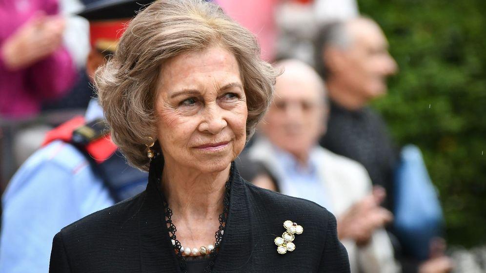 Foto: La reina Sofía en una imagen de archivo. (Cordon Press)