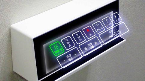 Japón inventa un holograma táctil para ir al baño sin tocar nada