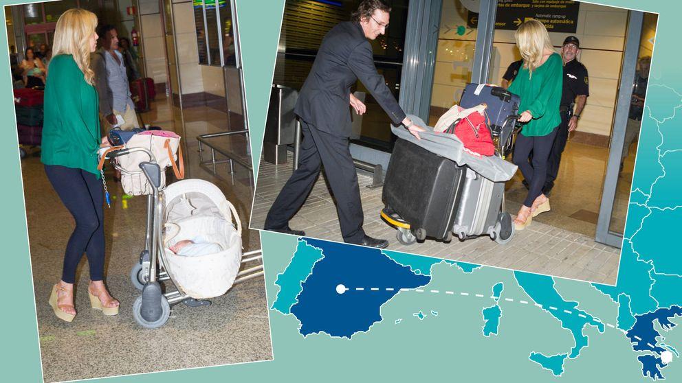 Mudanza con bebé en los Gómez-Acebo: el primo del Rey vuelve a casa
