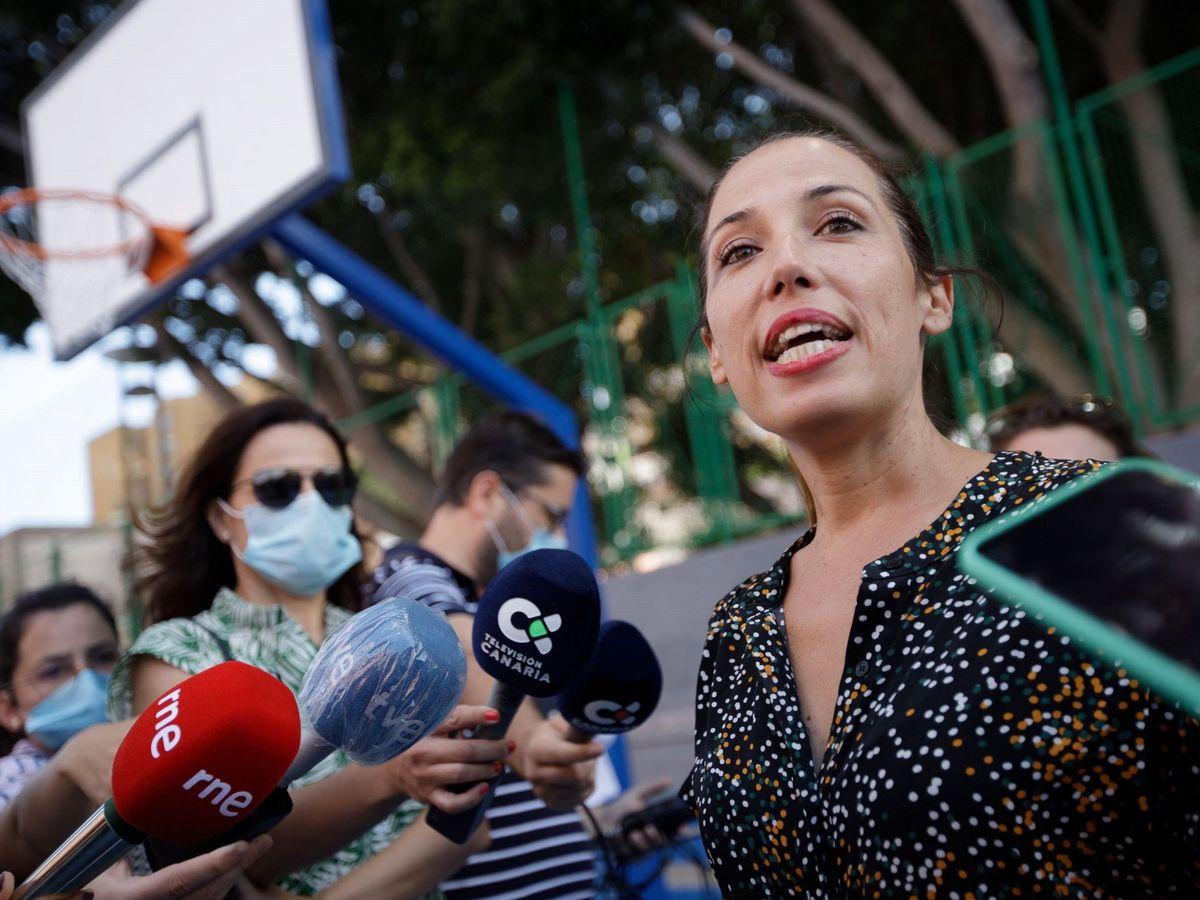 Foto: La alcaldesa de Santa Cruz de Tenerife, Patricia Hernández. (EFE)
