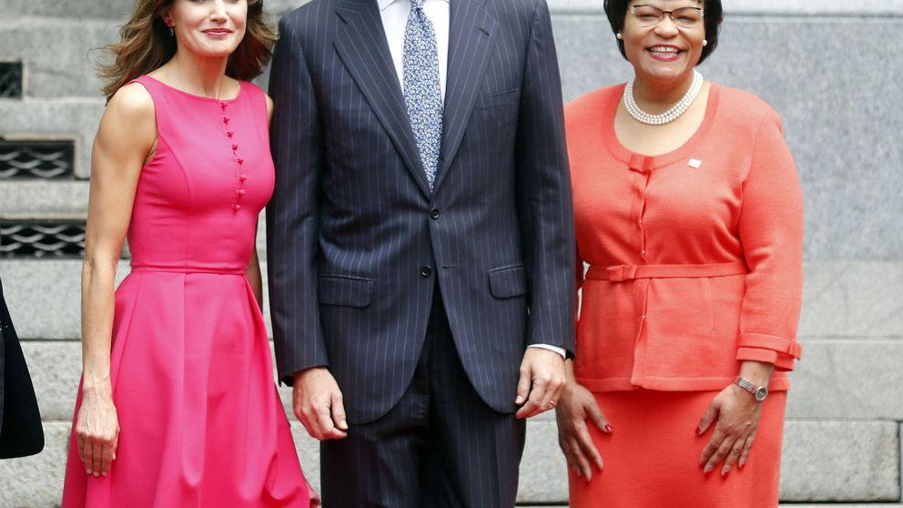 La 'vie en rose' de la reina Letizia en Nueva Orleans (con tres estrenos)