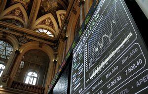 El Ibex recupera los 9.800 puntos en la antesala del BCE